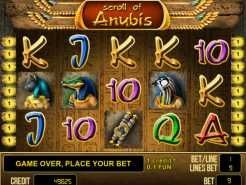 Scroll of Anubis Slots