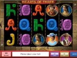 Hearts of Three Slots